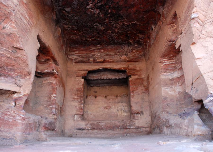 Wnętrze jednej z komór grobowych Grobowca Pałacowego